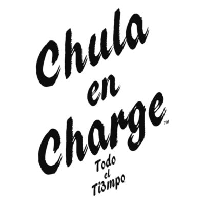 CHULA EN CHARGE - PREMIUM LADIES S/S TEE - WHITE Design