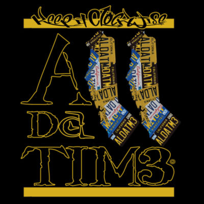 ADT CALI INVERT - PREMIUM LADIES TEE - BLACK Design