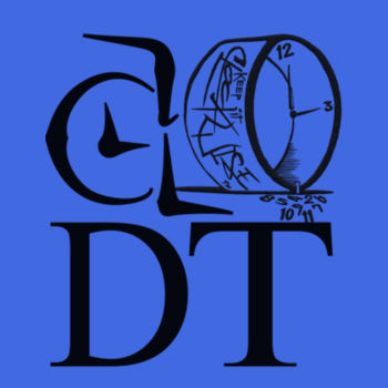 ADT PLUS LOGO - PREMIUM MEN'S S/S TEE - ROYAL BLUE Design