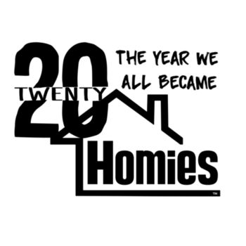2020 WE'RE ALL HOMIES - PREMIUM MEN'S S/S TEE - WHITE Design