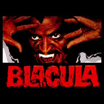 BLACULA - PREMIUM MEN'S S/S TEE - BLACK Design
