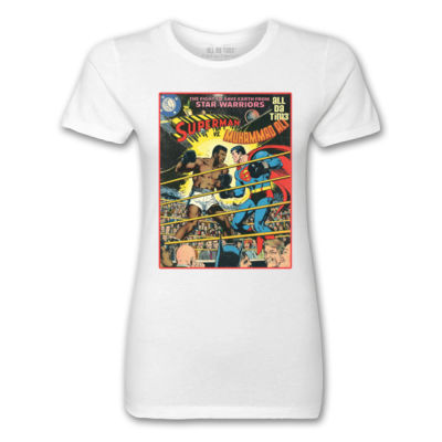 ALI COMIC - PREMIUM MEN'S S/S TEE - BLACK Thumbnail