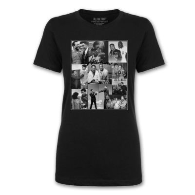 ALI COLLAGE - PREMIUM LADIES S/S TEE - BLACK Thumbnail