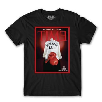 GREATEST OF ALL TIME - PREMIUM MEN'S S/S TEE - BLACK Thumbnail