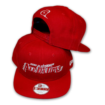 ADT - LOGO - SNAPBACK HAT - RED Thumbnail