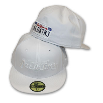 ADT - LOGO - FITTED HAT - WHITE Thumbnail